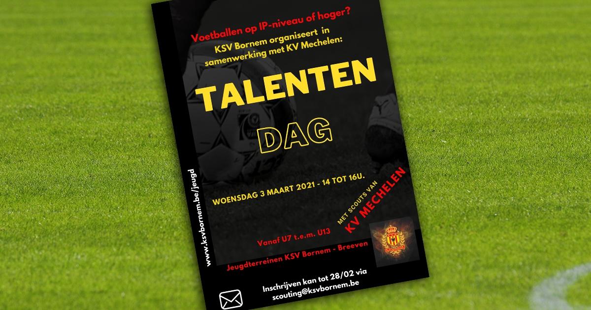 Talentendag met scouts KV Mechelen
