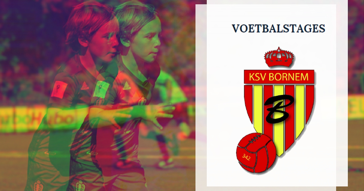 Voetbalstages.be bij KSV Bornem (12-16 april)