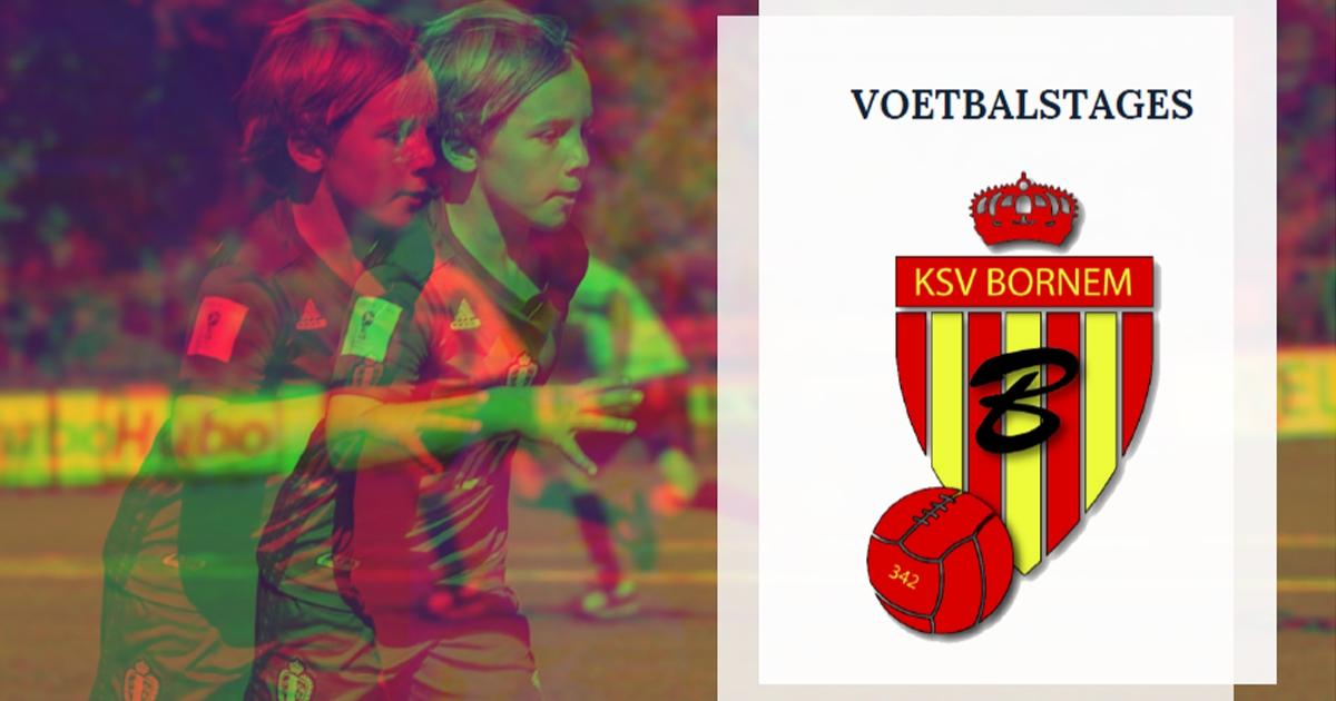 Voetbalstages.be bij KSV Bornem (12-16 april)